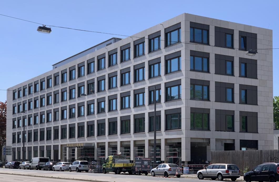 Fast fertig – House of Labour in Frankfurt