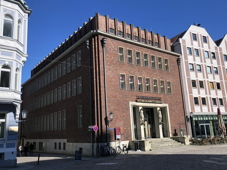 Gewerkschaftshaus Stralsund, Alter Markt4