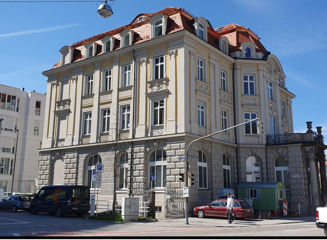 Fertiggestellt – das neue Gewerkschaftshaus in Kempten in der Beethovenstraße7