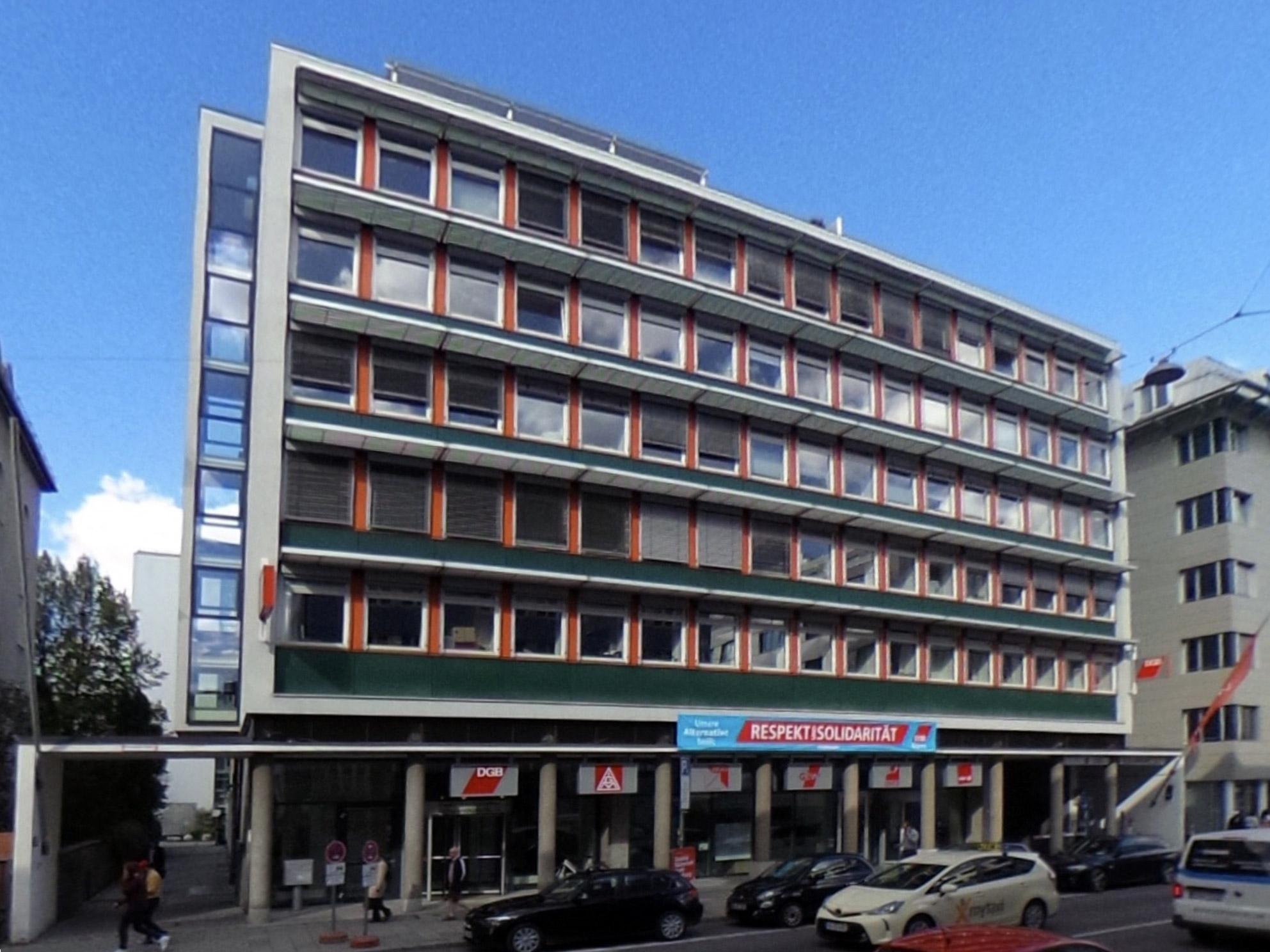 Projekt M 64 – neues Gewerkschaftshaus München