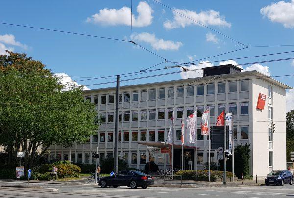 Gewerkschaftshaus in Darmstadt