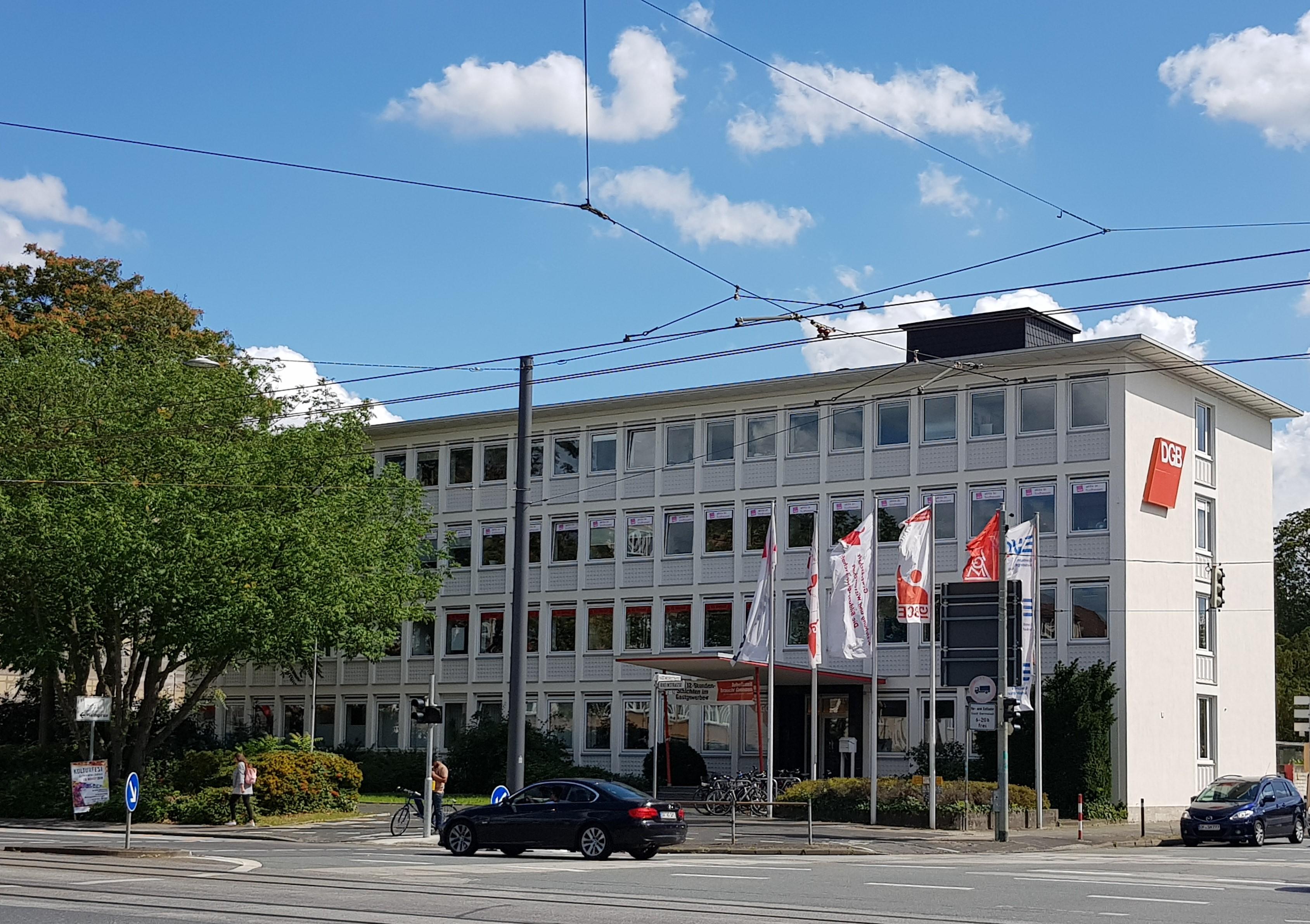 Neues Gewerkschaftshaus in Darmstadt