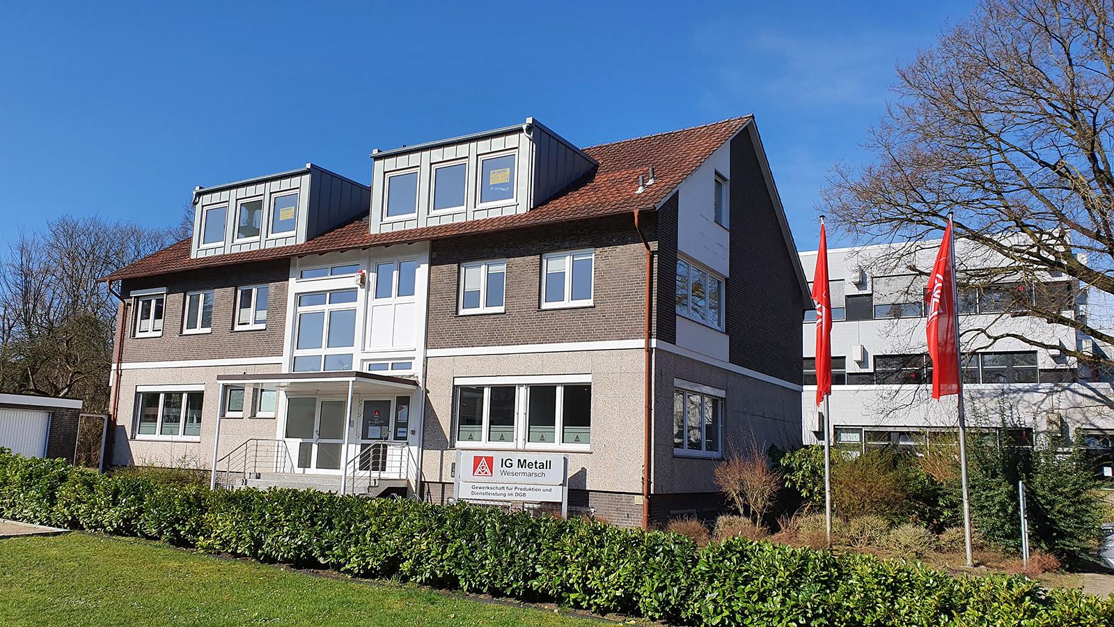 Neues Gewerkschaftshaus Nordenham